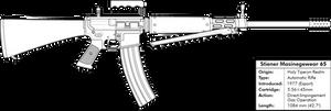 Stiener Masinegewear 65 Light Machine Gun