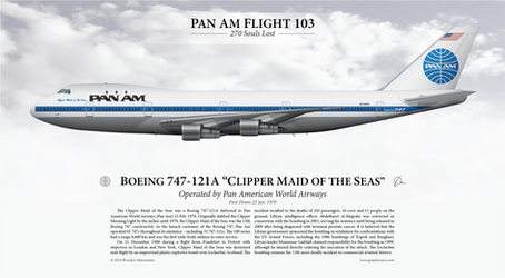 Boeing 747-121A 'Clipper Maid of the Seas' - PanAm