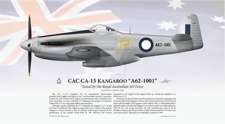 CAC CA-15 Kangaroo 'A62-1001' Print