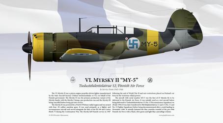 VL Myrsky II 'MY-5' Print