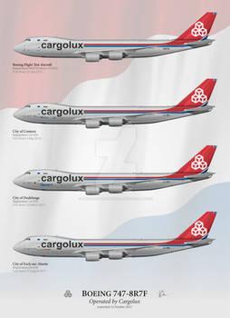 Boeing 747-8R7F - Cargolux