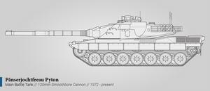Panserjochtfreau Pyton (Main Battle Tank)