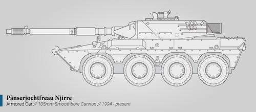 Panserjochtfreau Njirre (Armored Car)