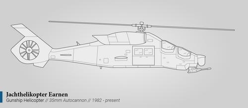 Jachthelikopter Earnen (Helicopter Gunship)