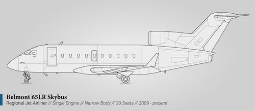 Belmont 65LR Skybus (Regional Airliner)