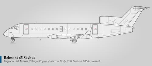 Belmont 65 Skybus (Regional Airliner)