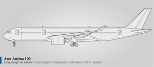 Ares Antina 100 (Long-Range Airliner)