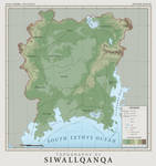 SiWallqanqa Topography - Atlas of Anterra