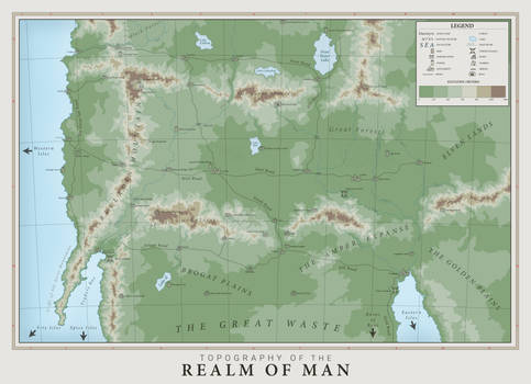 Realm of Man Topography (Commission)