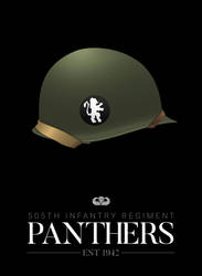 Company G, 505th Infantry - Panthers by graphicamechanica