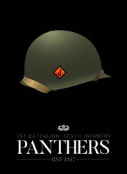 1st Battalion, 505th Infantry - Panthers by graphicamechanica