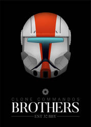 Clone Commandos - Brothers by graphicamechanica