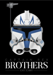 Captain Rex - 'Brothers' Poster by graphicamechanica