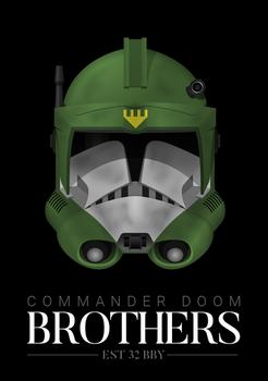 Commander Doom - 'Brothers' Poster