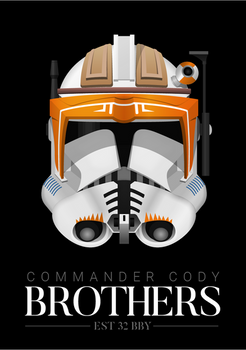 Commander Cody - 'Brothers' Poster