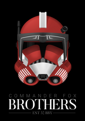 Commander Fox - 'Brothers' Poster
