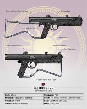 Iapetusius-70 - Zahavan Submachine Gun