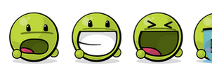Giant Green Vector Emote Pack