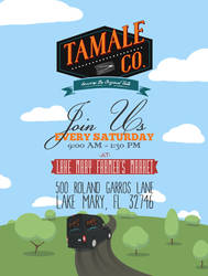 Tamale Co. Event Flyer by guitarcraze
