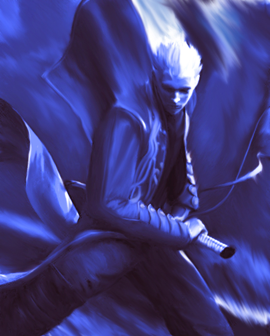 Vergil - Devil May Cry 3 by metamorphicmind