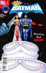 B-man and Wondys wedding comic by batmanfan11