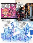 comic of batmans wedding