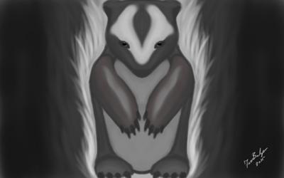 Badger guiding spirit.