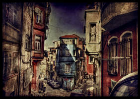 Blue and Alone HDR by ISIK5