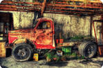 The Little Red Truck HDR