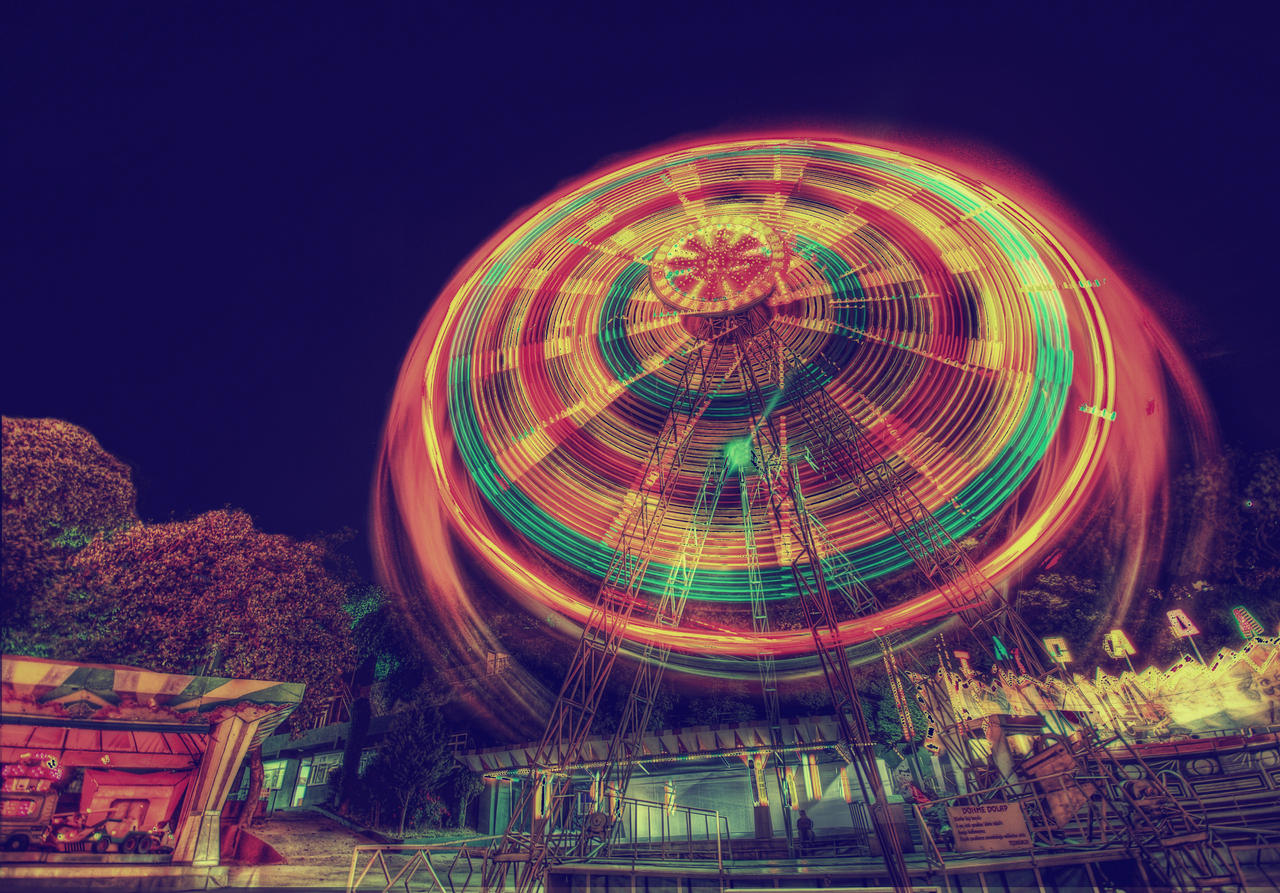 The Ferris Wheel HDR by ISIK5