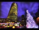 Christmas meets city HDR