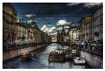 Canal Dreams II HDR