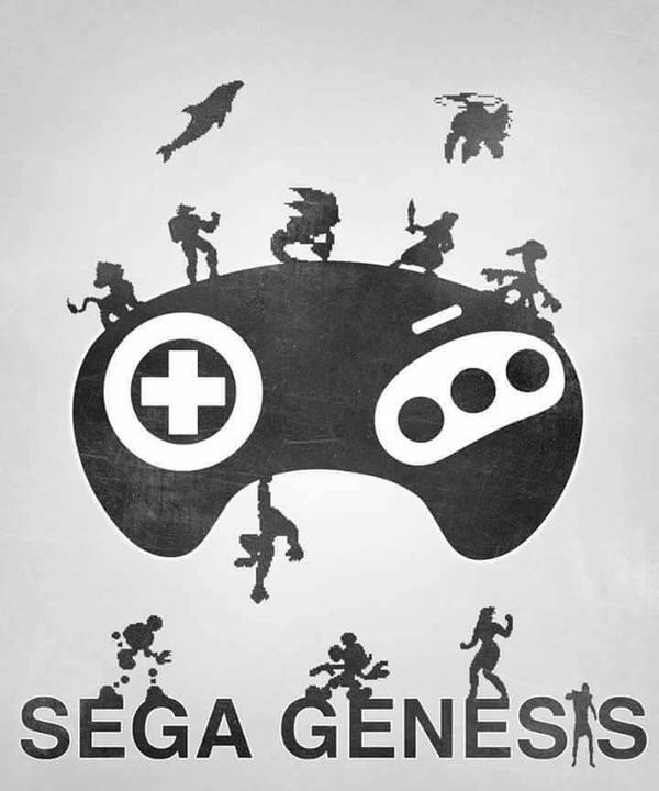 Sega Genesis by Ronsonic