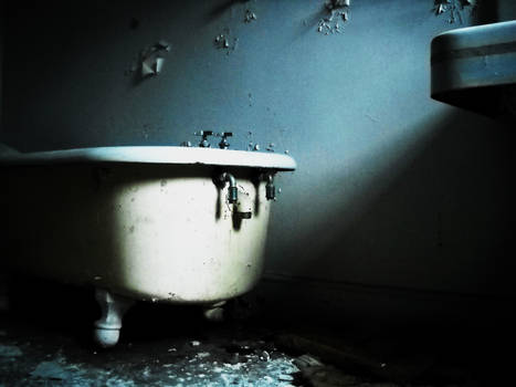 abandoned Mansion Bathtub