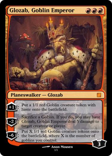 Glozab Goblin Emperor by LtDan71