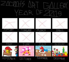 Zac0ch's Art Gallery 2019