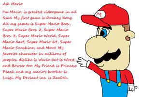 Ask Mario