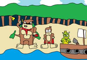 Donkey Kong Jungle Beach
