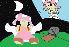 Super Mario Toadette going Heaven