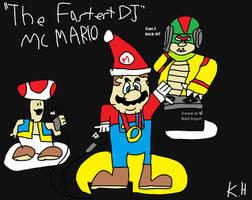 The Fastest DJ Mc Mario in Sonic CD Test