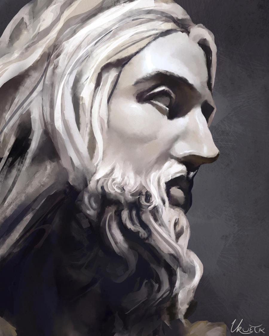 Jesus - Bernini by KUMIKER on DeviantArt