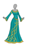 Celtic Dress Adoptable SOLD
