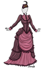 Victorian Dress Adoptable SOLD