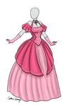 Pink Ball Gown Adoptable SOLD