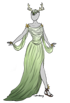 Fantasy Dress Adoptable SOLD