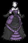 Dark Beauty Dress Adoptable SOLD