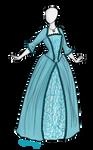 18th Century Dress Adoptable SOLD