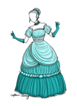 Icy Elegance dress adoptable SOLD