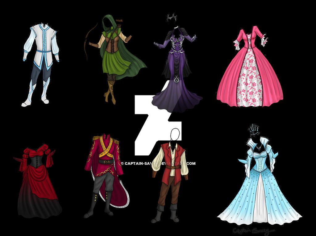 clothing design set jessybdesign by captainsavvy on