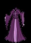 Purple Elven Gown Adopt [sold]